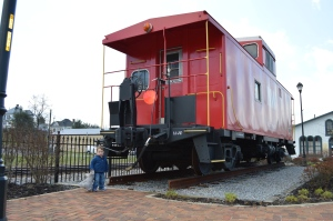 Caboose in Abingdon, Virginia
