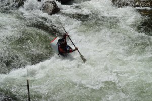 Excitement on the Nantahala River