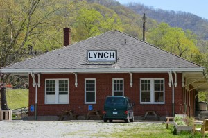 The Depot in Lynch, Kentucky