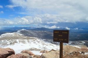 Mt. Evans Road - the highest paved road in North America
