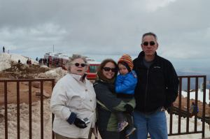 At 14,114 feet atop Pikes Peak