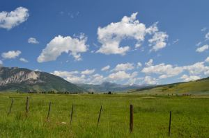 On the Road to Crested Butte