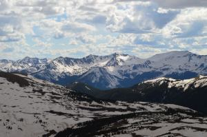 Up in the clouds in Rocky Mountain National Park