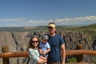 Family Portrait at the Black Canyon of the Gunnison