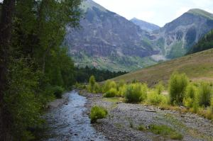 Views Along Our Hike in Telluride