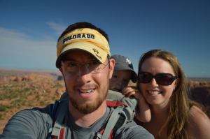 The Fam at Upheaval Dome