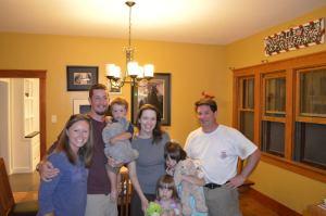 Me, Alan, Van, Cheri, Olivia, Anna Grace, and Tom