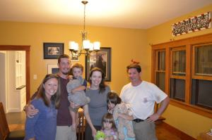 Me, Alan, Van, Cheri, Olivia, Anna Grace, and Tom