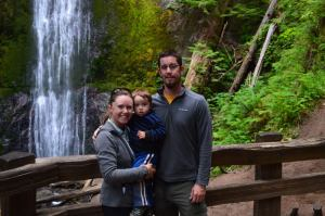 The Happy Family in Olympic National Park