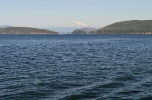 The Puget Sound and Mount Baker