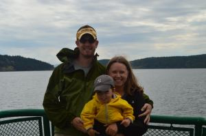 Traveling by Ferry in the San Juan Islands, Washington