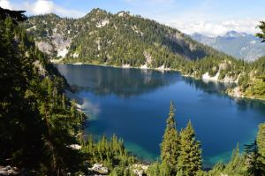 Snow Lake in the Central Cascades, Washington