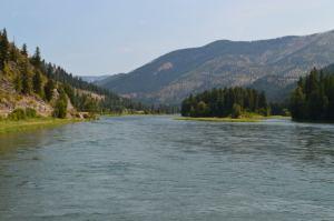 Kootenai River in Libby, Montana