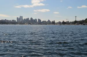 The Seattle Skyline from Gasworks Park