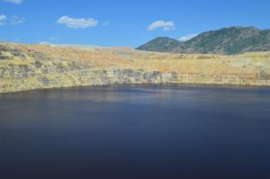 Berkeley Pit in Butte, Montana
